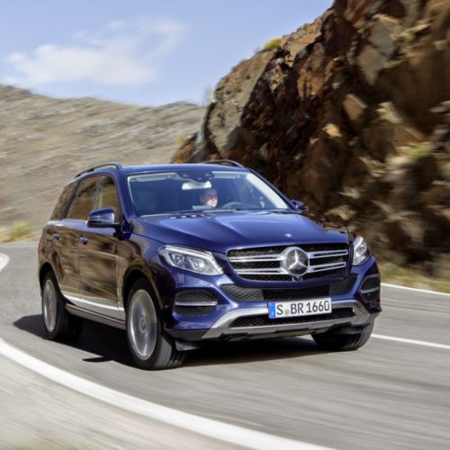 Rent a Mercedes Benz GLE