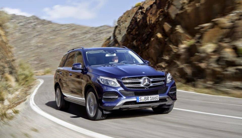 Rent a Mercedes Benz GLE