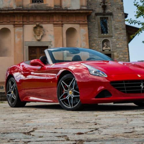 Rent a Ferrari California Turbo