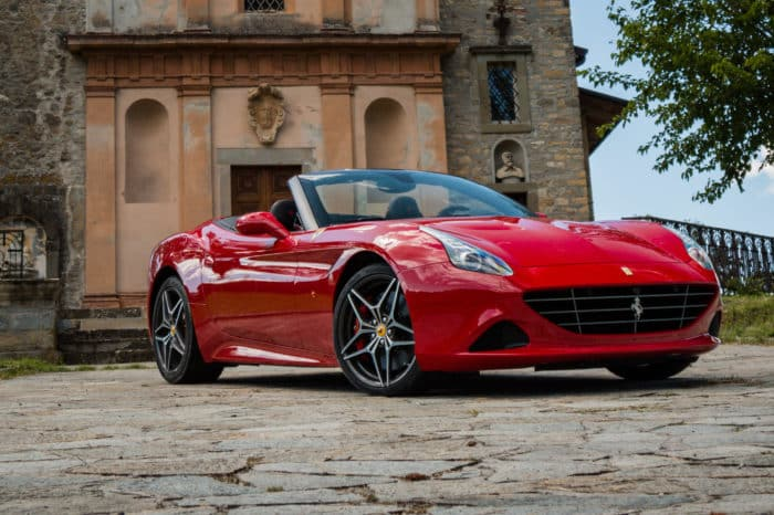 Rent a Ferrari California Turbo