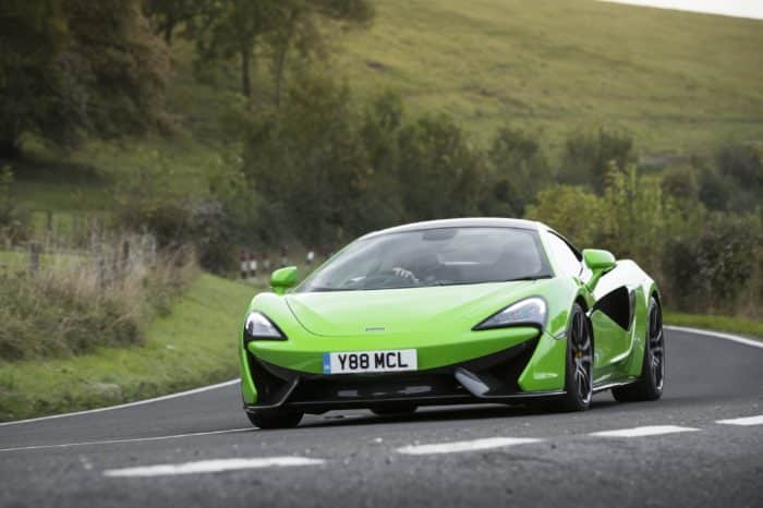 Rent a Mclaren 570 Coupe