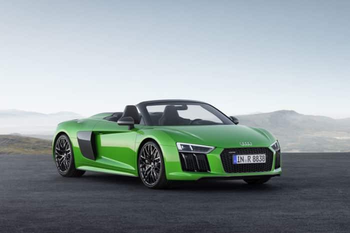 Rent a Audi R8 Spyder