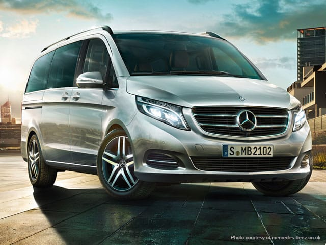 Rent a Mercedes V Class in Italy