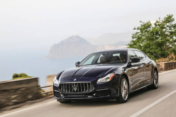 Rent a Maserati Quattroporte