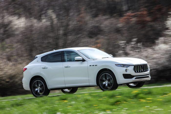Rent a Maserati Levante