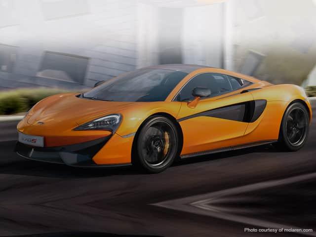 Rent a McLaren in Imperia