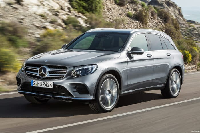 Rent a Mercedes GLC