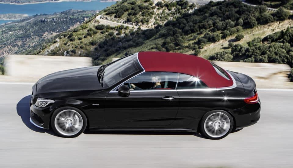 Rent a Mercedes C  Class Cabrio
