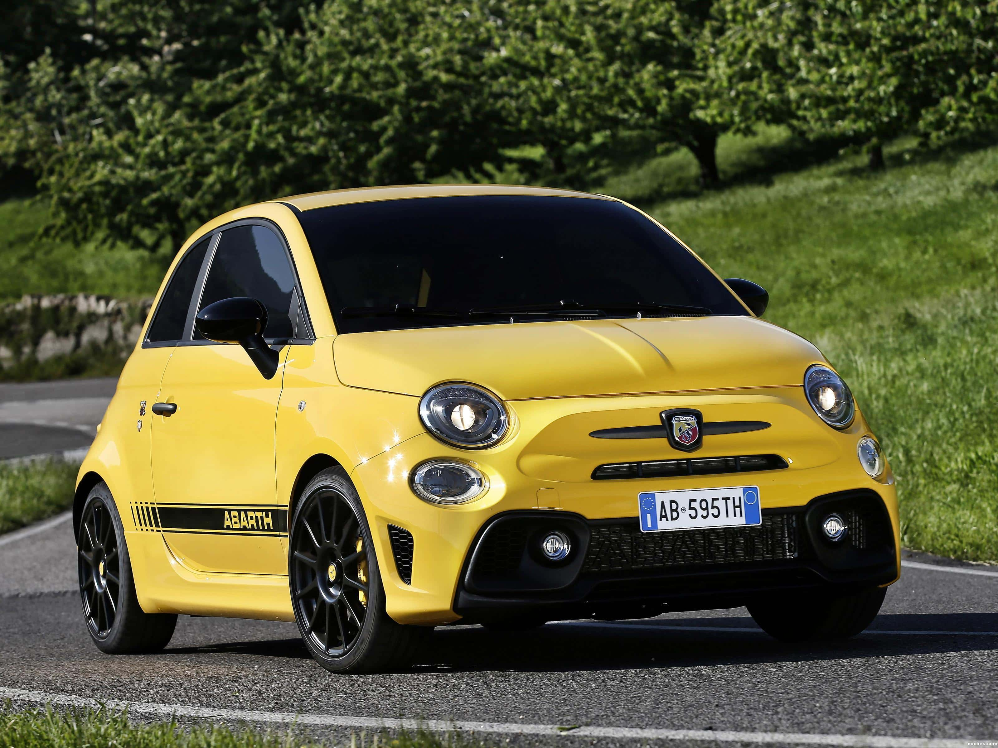 Rent a Fiat 500 Abarth 595 Competizione - Italy Luxury Car Hire