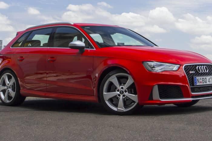 Rent a Audi RS3