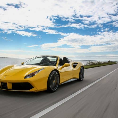 Rent a Ferrari 488 Spider