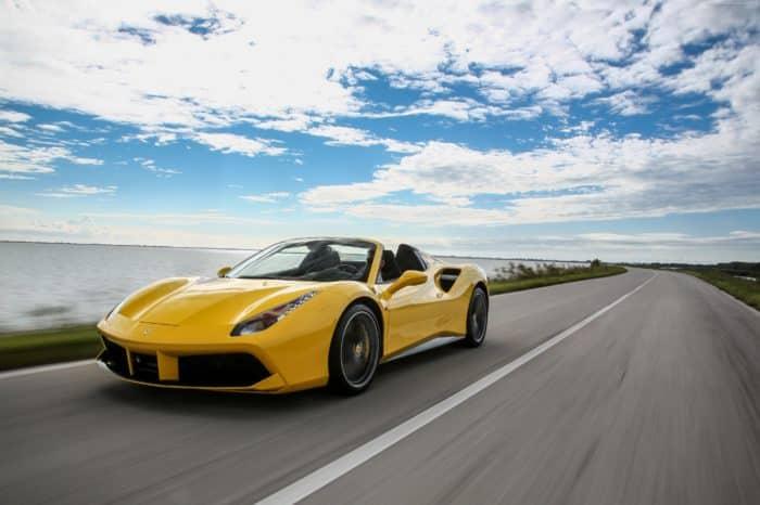 Rent a Ferrari 488 Spider