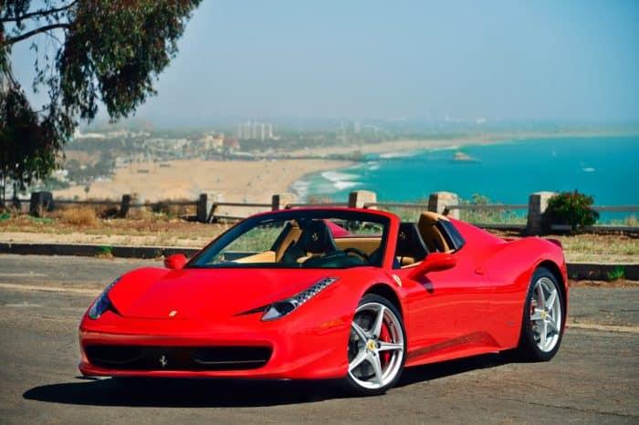 Rent a Ferrari 458 spider