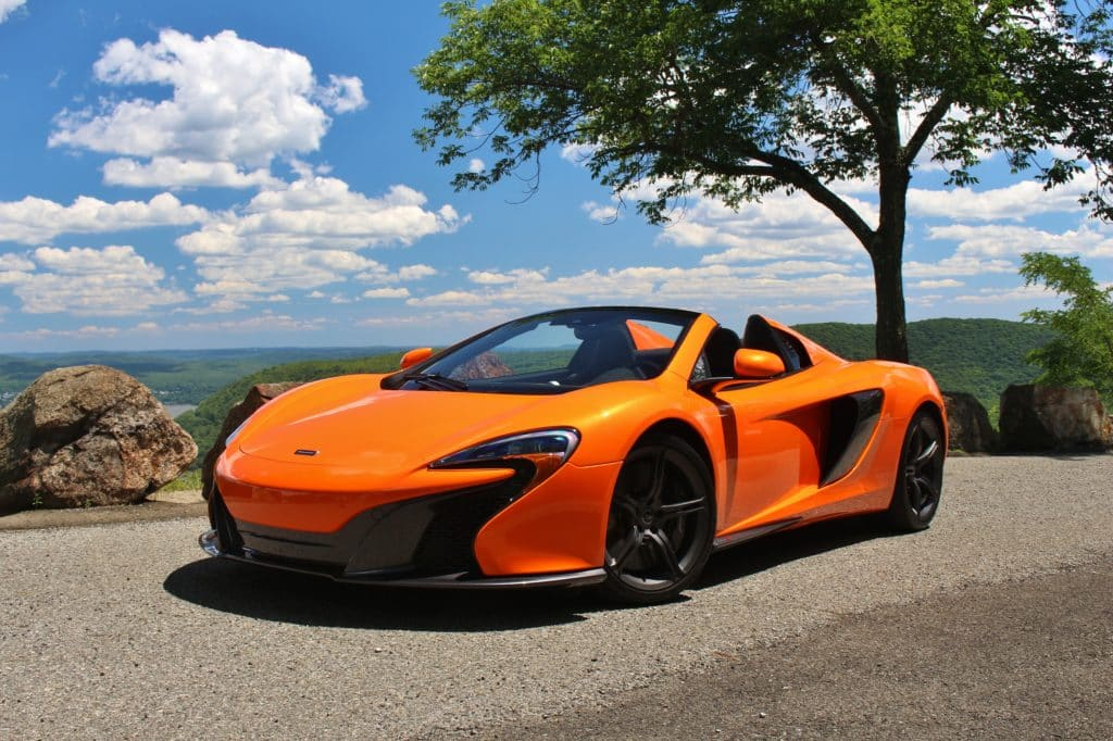 Rent a Mclaren 650s Spider sports car - Italy Luxury Car Hire
