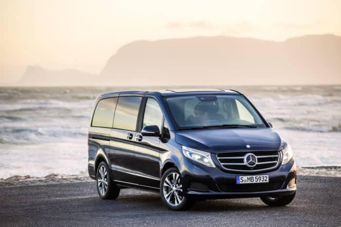 Rent a Mercedes V Class