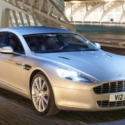 Aston Martin First Ever All-Electric Vehicle