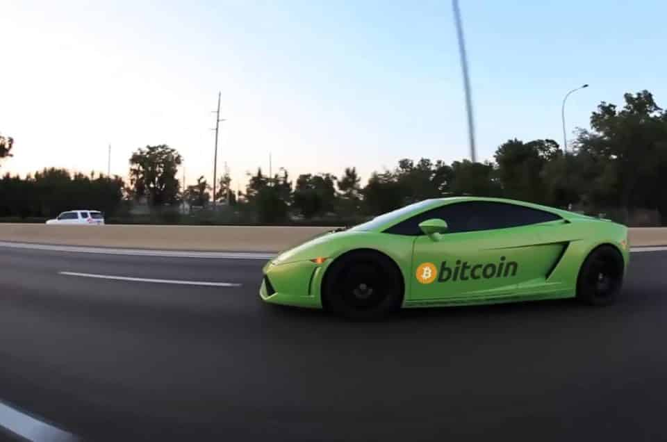 Bitcoin And Supercars – New Horizons Opening Up
