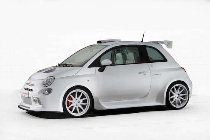 A New Super Abarth 500 For The Emir Of Qatar