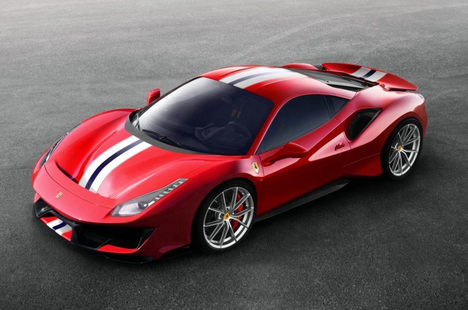 The Great Ferrari 488 Pista Italy Luxury Car Hire