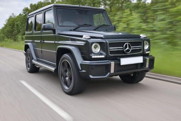 Rent a Mercedes G63 AMG