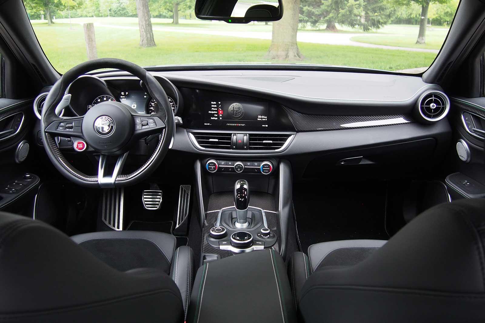 Rent New Alfa Romeo Giulia Quadrifoglio Italy Luxury Car Hire
