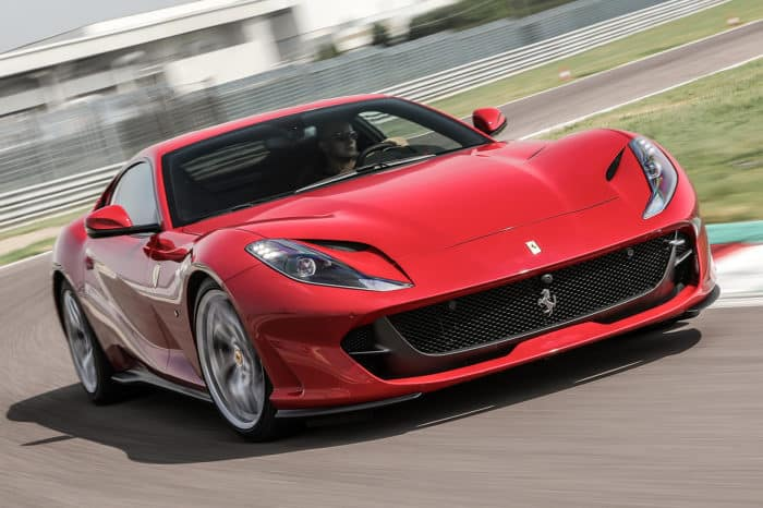 New Ferrari 812 Superfast