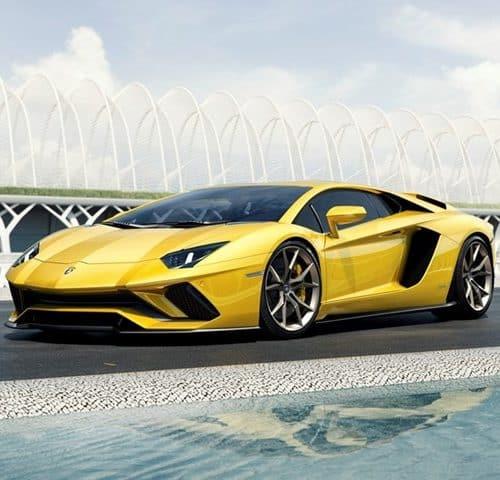 Rent a Lamborghini Aventador S