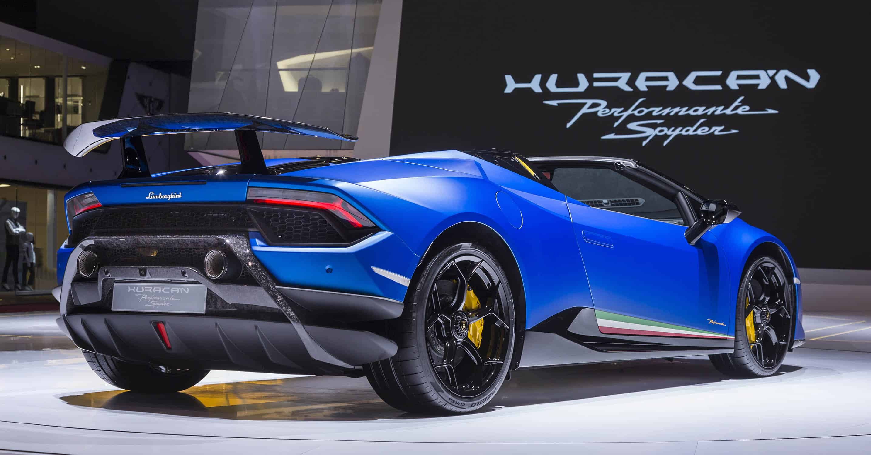Rent A Lamborghini Huracan Performante Spyder Italy Luxury Car Hire