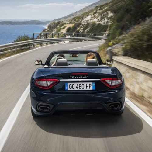 Rent a Maserati GranCabrio