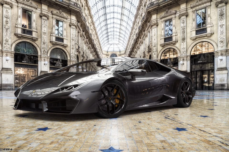 Supercar Rental In Milan