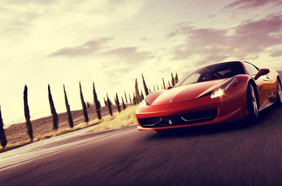 luxury car rental in florence