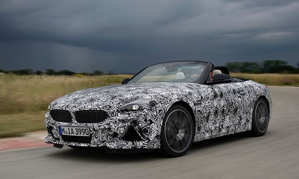 BMW Z4, the third generation returns with a canvas roof
