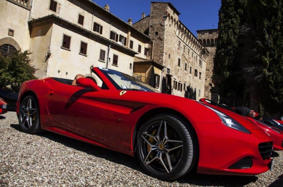 luxury car rental in viareggio