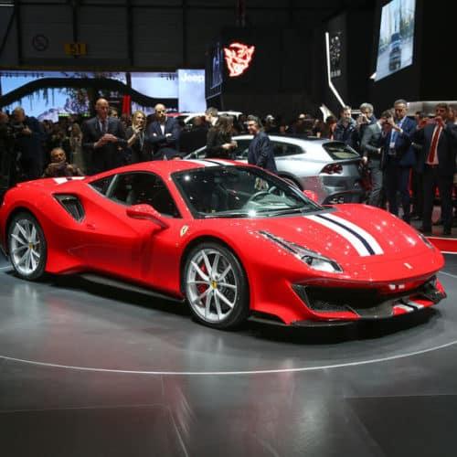Ferrari 488 Pista Italy
