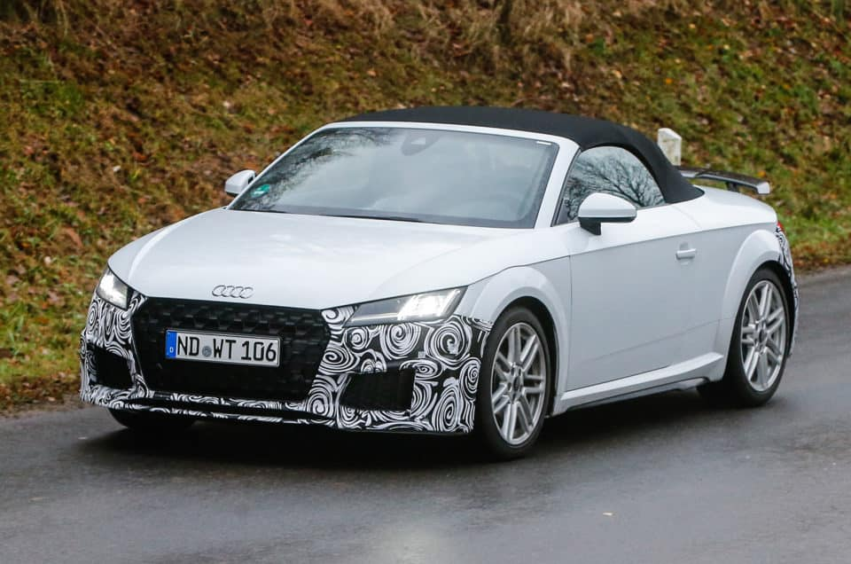 New Audi TT , on sale in late 2018