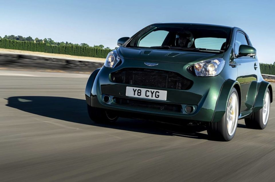 The ultimate city car: Aston Martin Cygnet V8