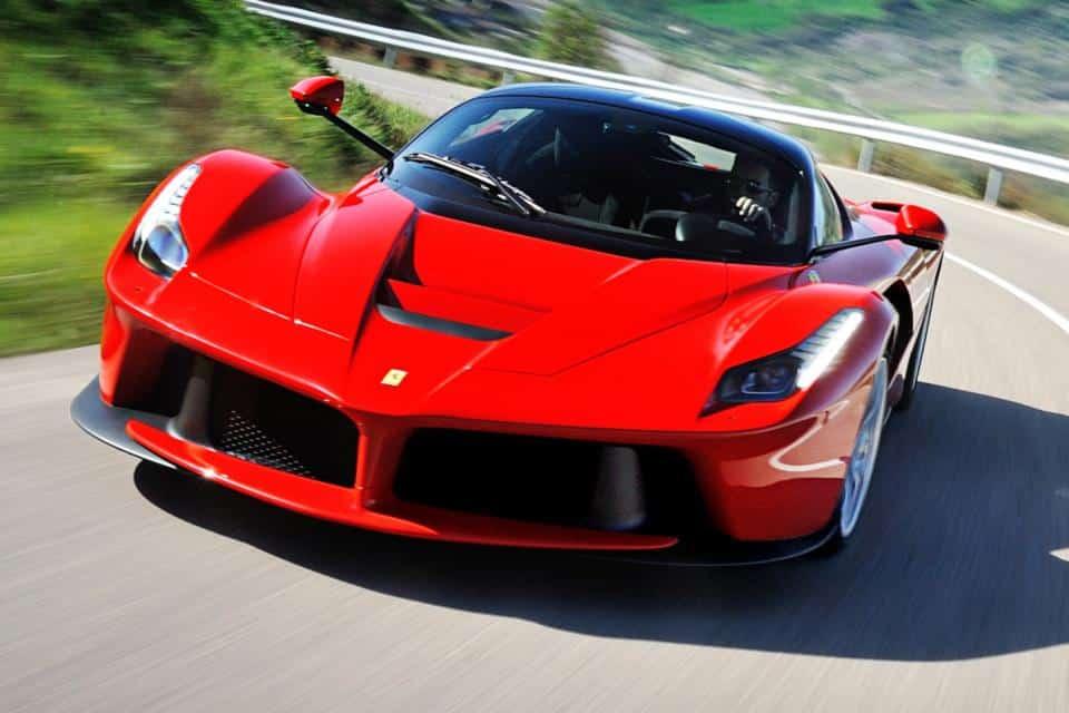 French Riviera on board a Ferrari
