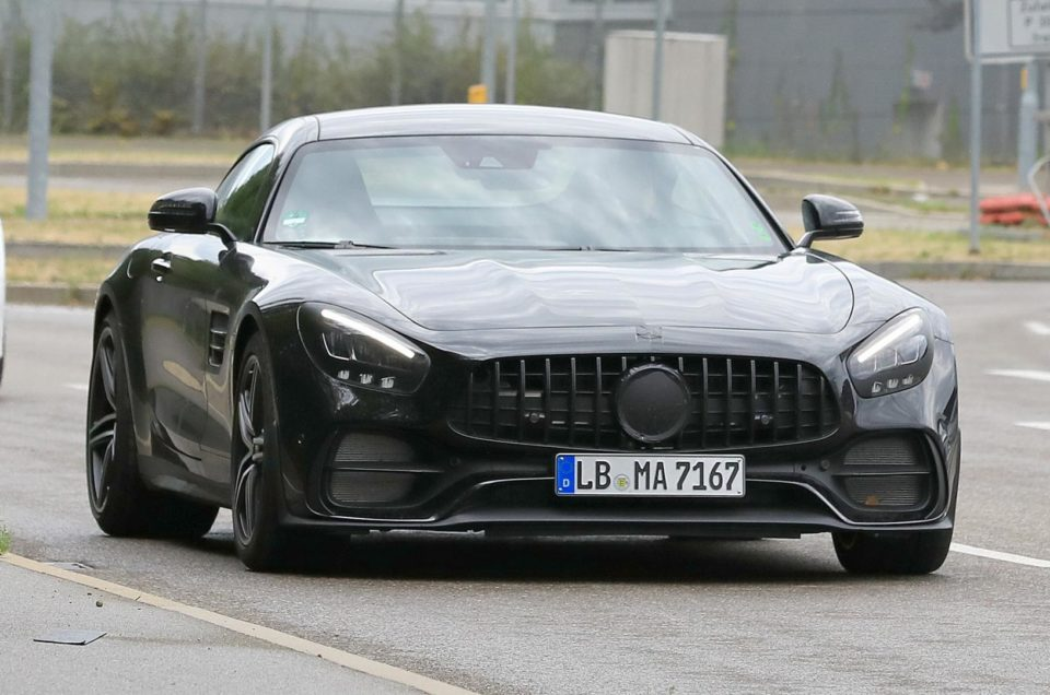 Mercedes-AMG GT, aesthetic changes planned for the next year