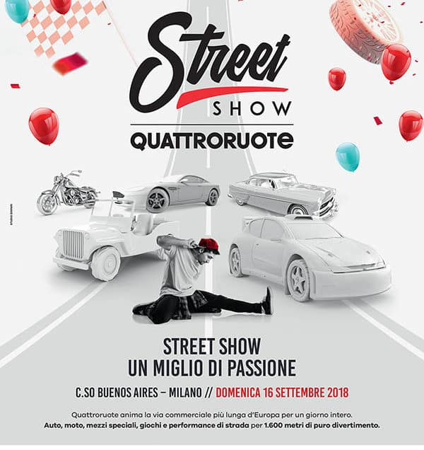Street Show Quattroruote is coming soon