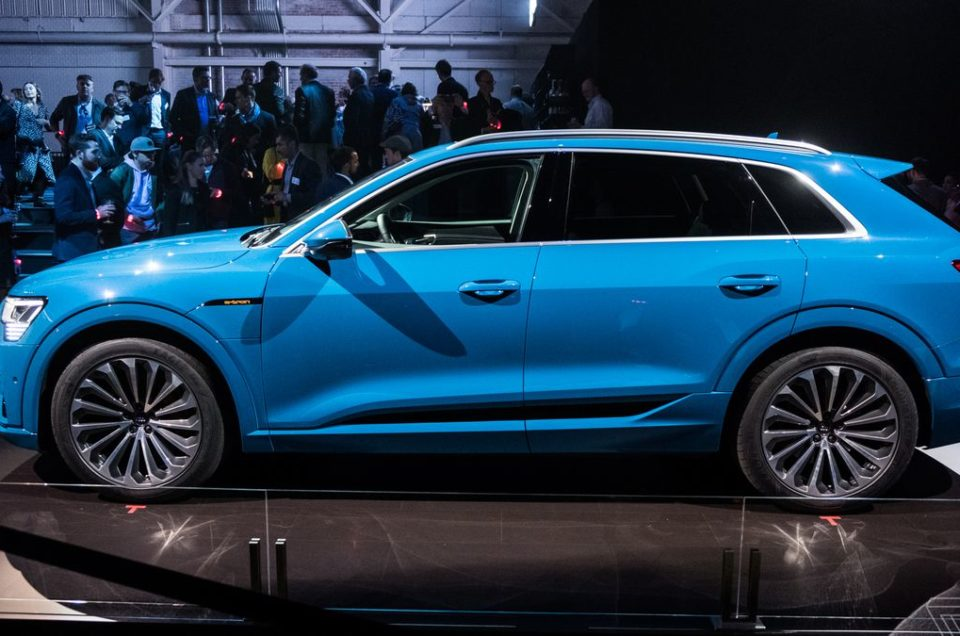 Audi e-tron, an amazing electric car