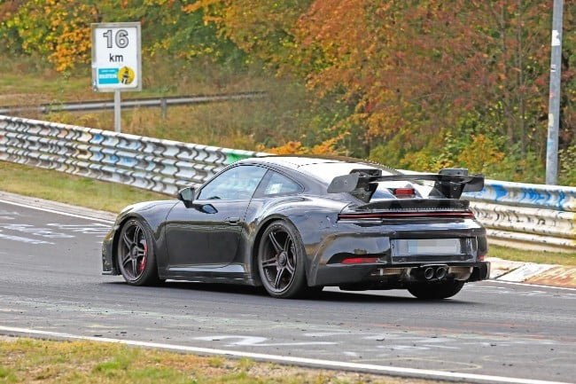 Porsche 911, the new 992 GT3 is coming