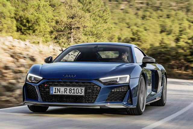 Audi r8 renewed