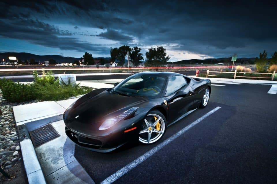 Hire a supercar in Italy