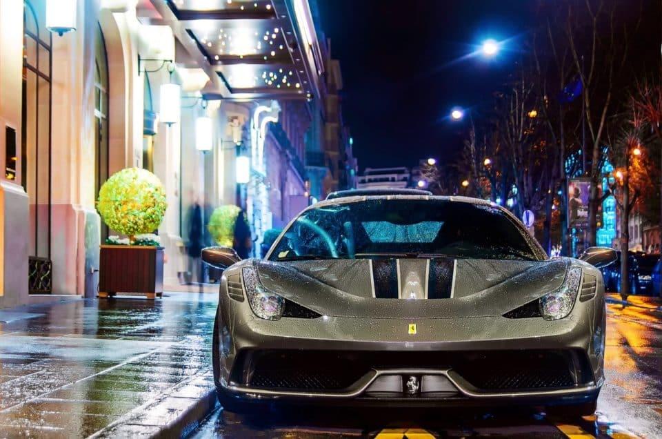 luxury car rental in bergamo