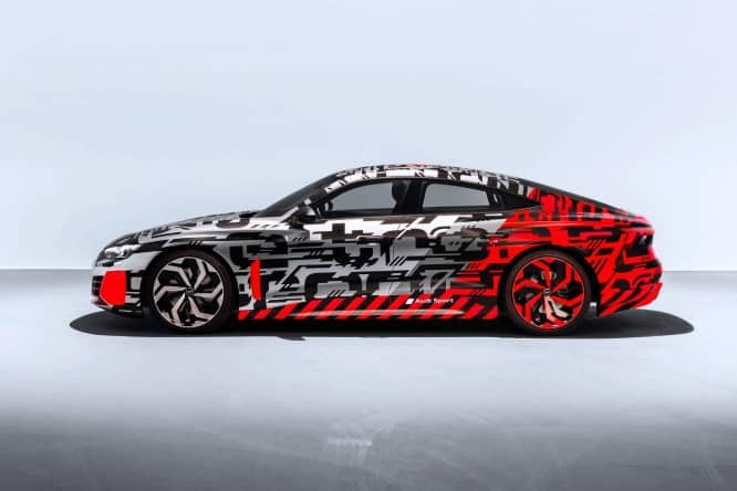 Audi e-tron GT, new teaser