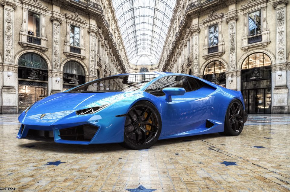 rent a luxury car in milan