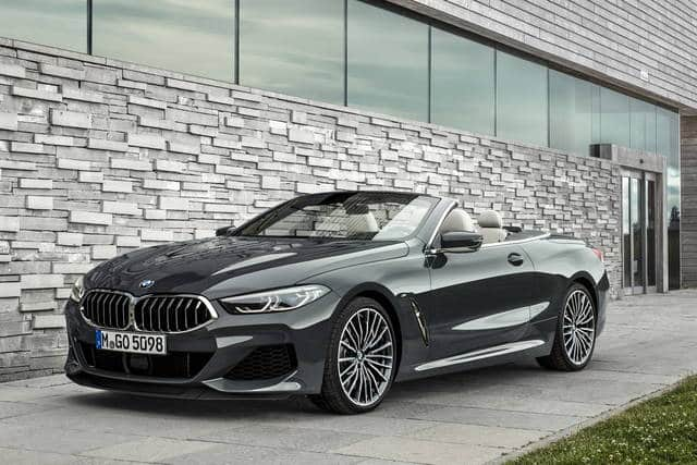 The BMW 8 Series Cabriolet