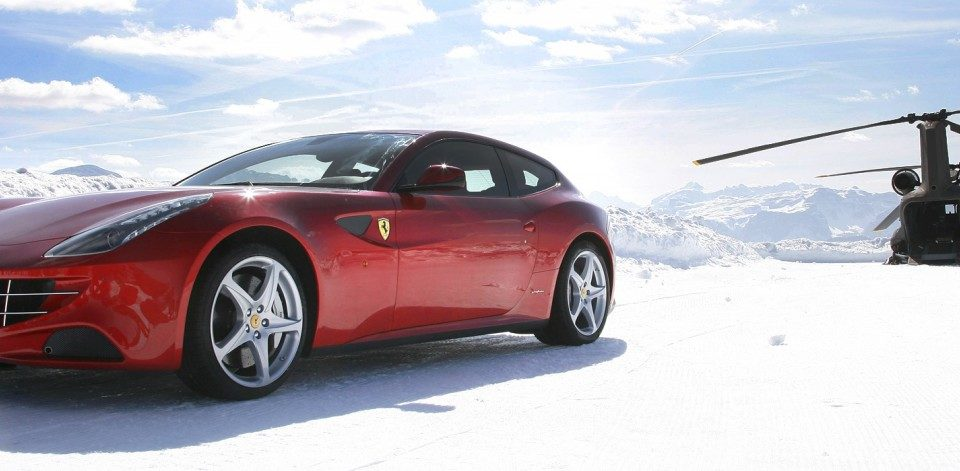 Luxury Car Rentals In Cortina D'Ampezzo