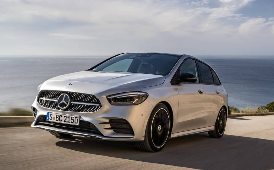 The New Mercedes B Class