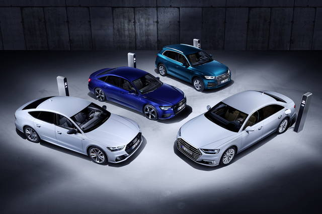 Audi expands the availability of electrified cars